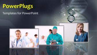 PowerPoint Template - Medical background
